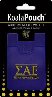 Sigma Alpha Epsilon Koala Pouch Phone Wallet