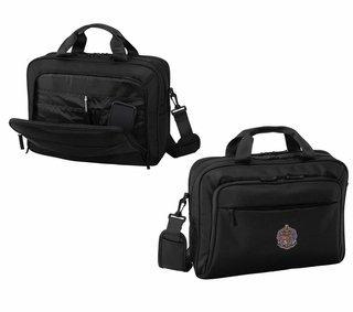 DISCOUNT-Sigma Alpha Epsilon Crest - Shield Briefcase Attache