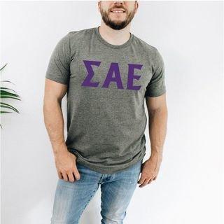 Sigma Alpha Epsilon letter tee
