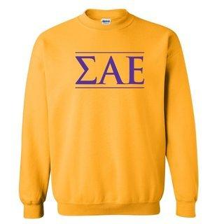 Sigma Alpha Epsilon Logo Crewneck Sweatshirt