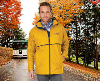 Sigma Alpha Epsilon Men's New Englander� Rain Jacket