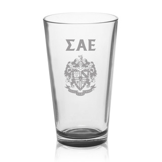 Sigma Alpha Epsilon Mixing Glass