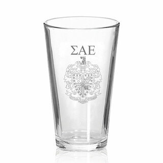 Sigma Alpha Epsilon Mixing Glass