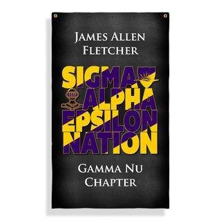 Sigma Alpha Epsilon Nations Giant Banner
