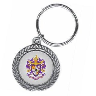 Sigma Alpha Epsilon Pewter Key Ring