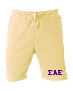 Sigma Alpha Epsilon Pigment-Dyed Fleece Shorts