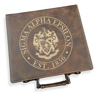 Sigma Alpha Epsilon Poker Set