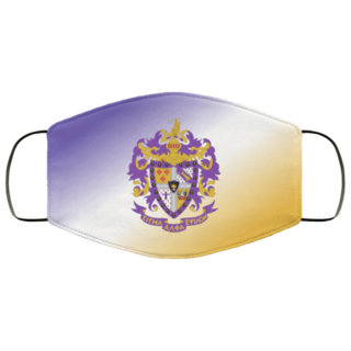 Sigma Alpha Epsilon Super Crest Face Masks