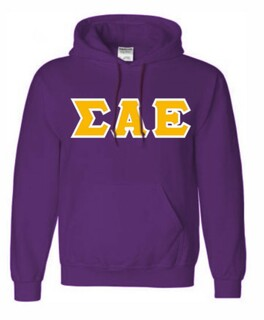 Sigma Alpha Epsilon Lettered Sweatshirts
