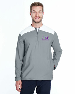 Sigma Alpha Epsilon Under Armour�  Men's Triumph Cage Quarter-Zip Pullover