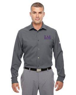 Sigma Alpha Epsilon Under Armour�  Men's Ultimate Fraternity Long Sleeve Buttondown