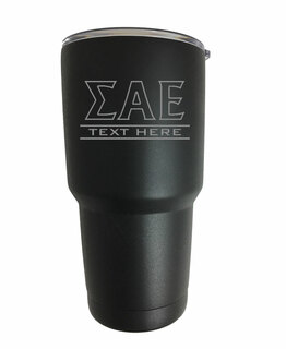Sigma Alpha Epsilon Vacuum Insulated Tumbler