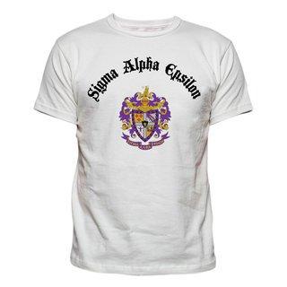 Sigma Alpha Epsilon Vintage Crest - Shield T-shirt