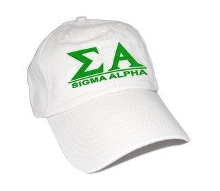 Sigma Alpha Famous Line Hat