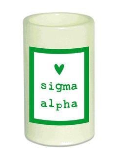 Sigma Alpha Flameless Candle