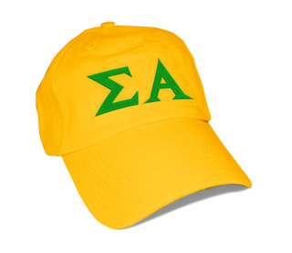 Sigma Alpha Greek Letter Hat