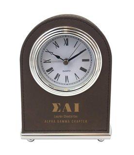 Sigma Alpha Iota Arch Desk Clock
