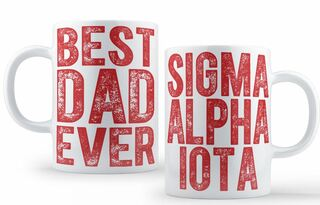 Sigma Alpha Iota Best Dad Ever Coffee Mug