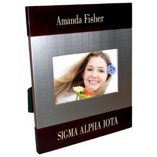 Sigma Alpha Iota Brush Silver Frame