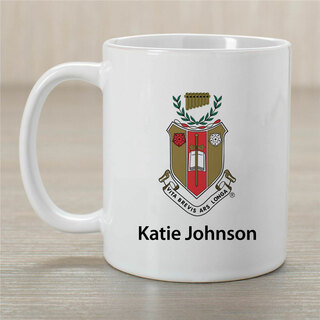 Sigma Alpha Iota Crest Coffee Mug - Personalized!