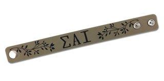 Sigma Alpha Iota Cuff Bracelet