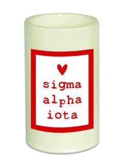 Sigma Alpha Iota Flameless Candle