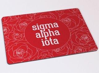 Sigma Alpha Iota Floral Mousepad
