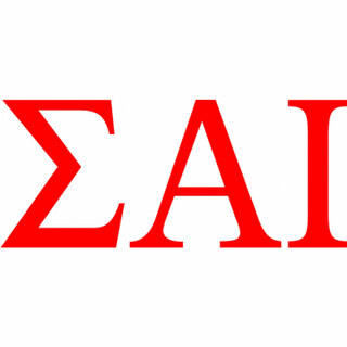 Sigma Alpha Iota Greek Letter Window Sticker Decal