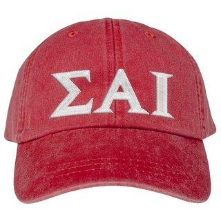 Sigma Alpha Iota Lettered Premium Pastel Hat