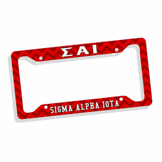 Sigma Alpha Iota Custom License Plate Frame