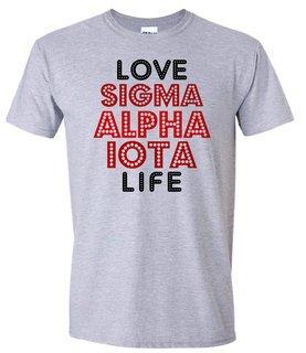 Sigma Alpha Iota Love Life Tee