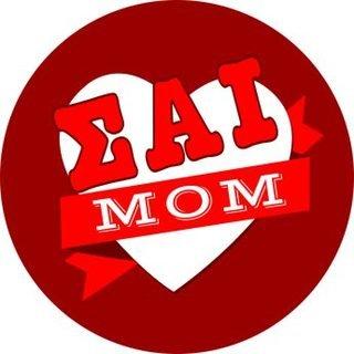 Sigma Alpha Iota Mom Round Decals
