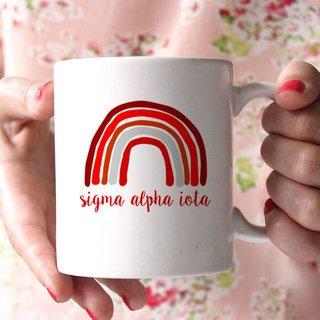 Sigma Alpha Iota Rainbow Coffee Mug