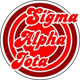 Sigma Alpha Iota Retro Round Decals