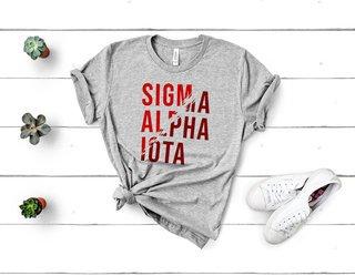 Sigma Alpha Iota Ripped Favorite T-Shirt