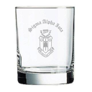 Sigma Alpha Iota Old Style Glass