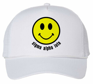 Sigma Alpha Iota Smiley Face Trucker Hat