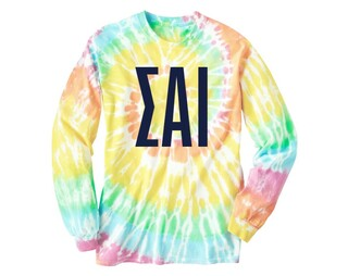 Sigma Alpha Iota Tie Dye Long Sleeve