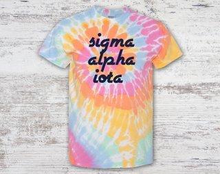 Sigma Alpha Iota Tie Dye Tee