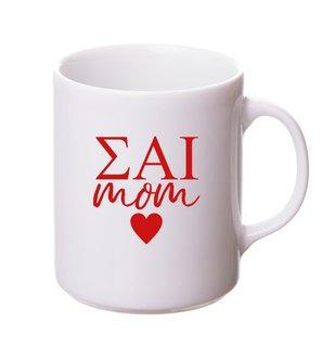 Sigma Alpha Iota White Personalized Coffee Mug