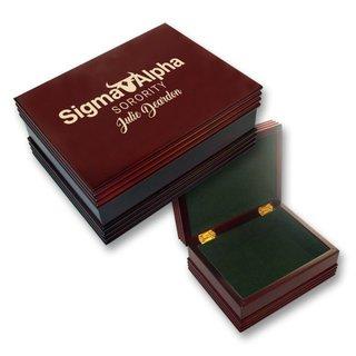 Sigma Alpha Mascot Keepsake Box