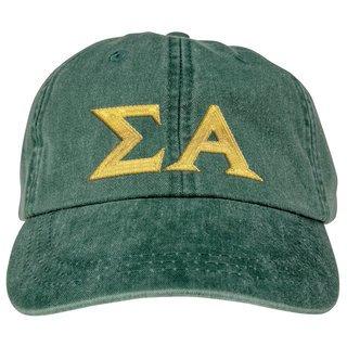 Sigma Alpha Lettered Premium Pastel Hat