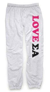 Sigma Alpha Love Sweatpants