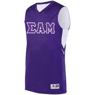 DISCOUNT-Sigma Alpha Mu Alley-Oop Basketball Jersey