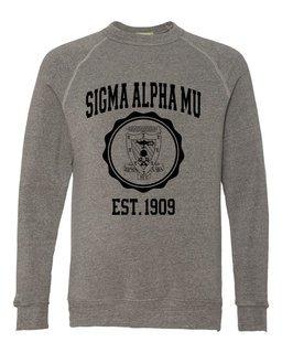 Sigma Alpha Mu Alternative - Eco-Fleece� Champ Crewneck Sweatshirt