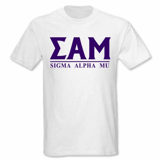 Sigma Alpha Mu bar tee
