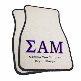 Sigma Alpha Mu Car Mats