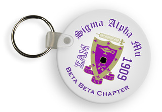 Sigma Alpha Mu Color Keychains