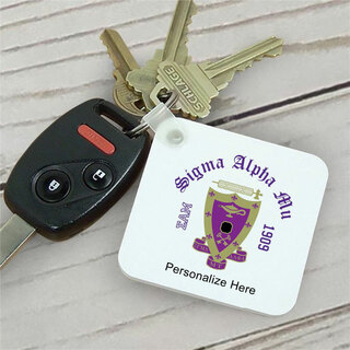 Sigma Alpha Mu Color Keychains