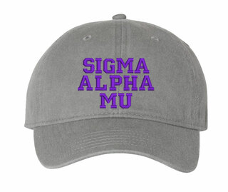 Sigma Alpha Mu Comfort Colors Pigment Dyed Baseball Cap